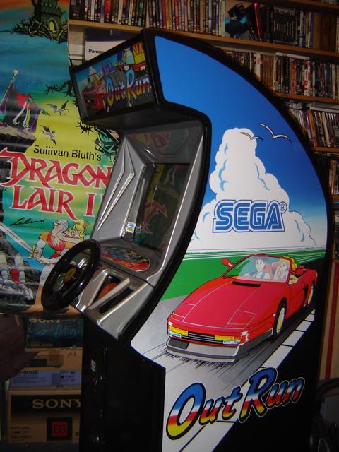 Sega Outrun the restoration