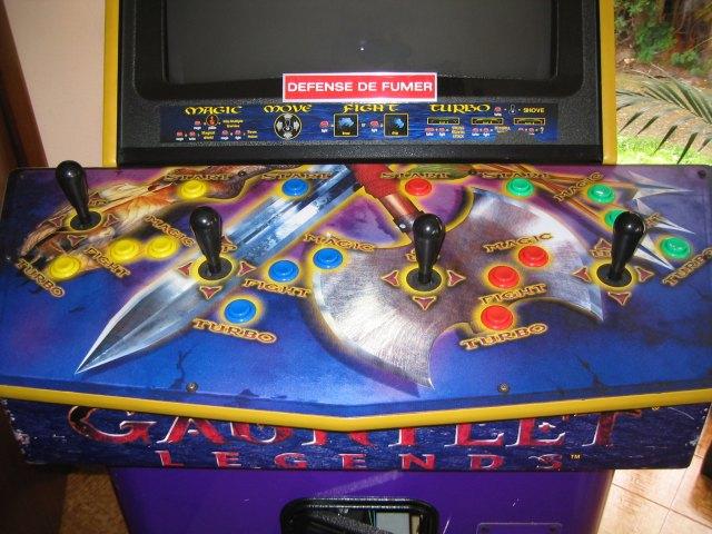 gauntlet legends arcade
