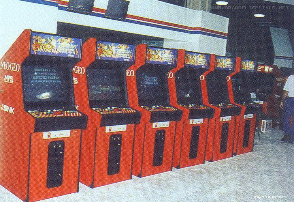 Dragon S Lair Fans Arcade Lifestyle Snk Neo Geo Art Of Fighting Amoa 92