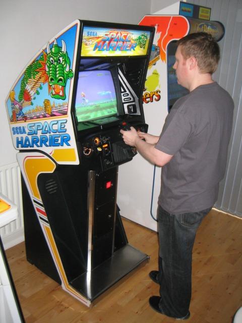 borne arcade space harrier